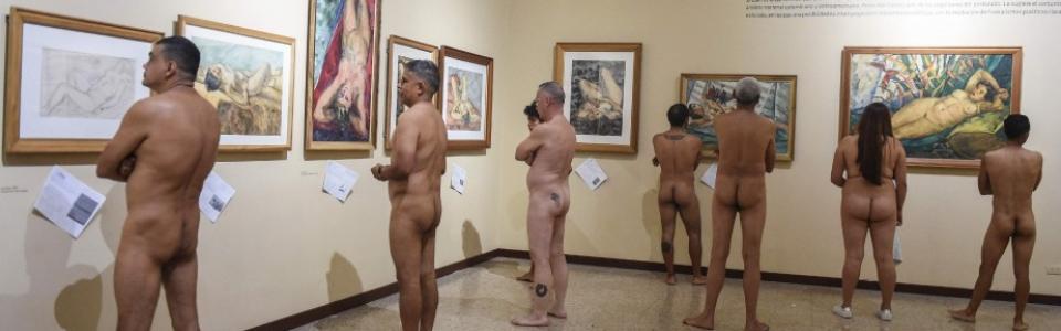 Un musée de Colombie expose ses nus aux nudistes-01