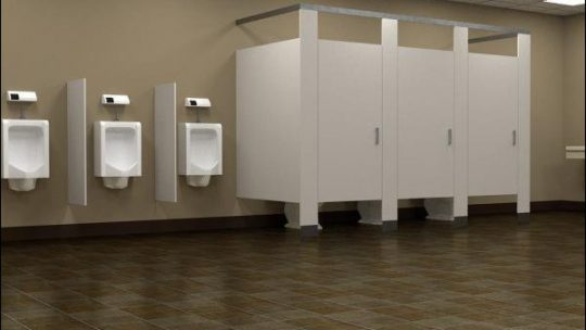 Des toilettes antisexes dans une ville portuaire du Pays de Galles