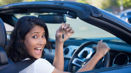 Les voitures les plus recherchées par les femmes